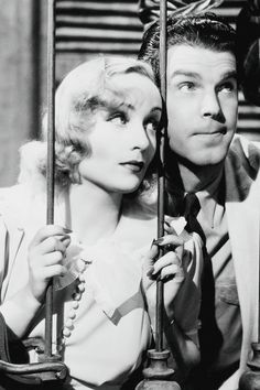 "Carole Lombard and Fred MacMurray in ""Swing High, Swing Low"", 1937"