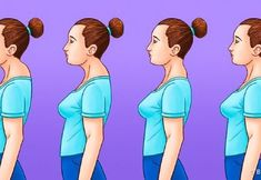 HOW TO GET THE PERFECT POSTURE Strong straight spine is essential for our health. So check out these healthy hacks. They'll help you get the perfect posture. Stomach Muscles, Abdominal Muscles, Shoulder Bones, Healthy Spine, Perfect Posture, Hands Together, Back Exercises, Sit Up, Weight Loss Goals