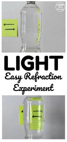 Try this simple light refraction experiment to help kids see how light can bend before their eyes! Perfect for an easy science experiment! Homeschool Curriculum, Homeschooling, Easy Science Experiments, Help Kids, How To Make Light, Teaching Tips, Lesson Plans, How To Plan, Eyes