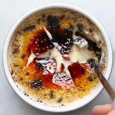 Cookies and Cream Creme Brulee