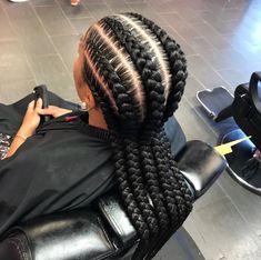 black braided hairstyles cornrows braided hairstyles 50 cornrow Hairstyles Trending in June Box Braids Hairstyles, Heatless Hairstyles, Braided Hairstyles For Black Women, Braids For Black Hair, African Hairstyles, Girl Hairstyles, Natural Hairstyles, Girls Braids, Kid Braids