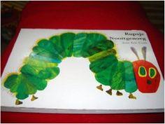 Childhood reads: The Very Hungry Caterpillar / Rupsje Nooitgenoeg - Een Gottmer-prentenboek / By Eric Carle / Dutch Language / Children's book in Dutch