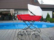 . Vintage Pram, Prams And Pushchairs, Dolls Prams, Baby Carriage, Unique Baby, Baby Items, Baby Strollers, Retro, Children