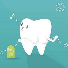 Use o fio dental!
