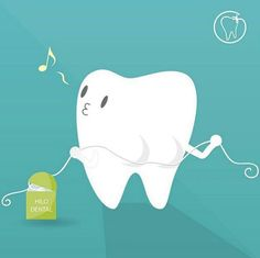 Use o fio dental!                                                                                                                                                                                 More