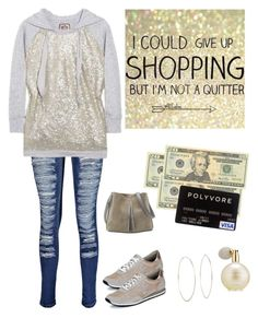 """Time to Shop"" by im-karla-with-a-k ❤ liked on Polyvore featuring MICHAEL Michael Kors, Boohoo, Estée Lauder, Michael Kors, Maison Margiela and OPTIONS"
