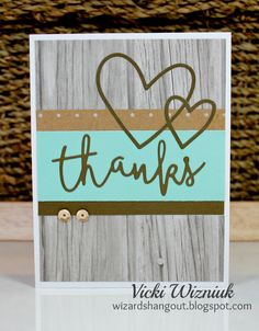 Today we are glad to welcome guest blogger Vicki Wizniuk from British Columbia, Canada to share some Close to my Heart goodness! I am so excited to share with all of you some fabulous quick cards I created using just some of new products just released this month from Close To My Heart! I got…