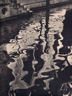 Vu de Venise Reflets dans L'eau. 1937 by Dr. Julius Halpern