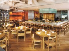 Roka  Charlotte Street, Soho Despite being open for 8 years, Roka, Zuma's sister restaurant, has a casual yet still upmarket vibe. Famed for their Japanese food, it is worth trying the Tokujo tasting menu - thirteen courses of their bestselling dishes.