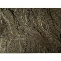 - Muskoka Slate-Stone, Rustic Brown - 18 x 24 Inches - 467549 - Home Depot Canada - Vinyl Room, Slate Stone, Backyard, Patio, Kitchen Redo, Quebec, Home Renovation, Dallas, Home Improvement