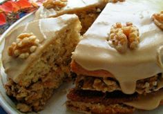 Maple Walnut Cake - Recipe - The Answer is Cake