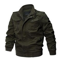 Military Jacket Men Mens Pilot Jacket, Tactical Jacket, Jacket Men, Cargo Jacket, Vest Men, Hooded Jacket, Rugged Style, Color Militar, Air Force Jacket