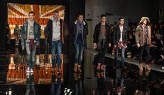 men's urban wear runway | -2015 Fall Winter Men's Runway show during London Collections: Men ...