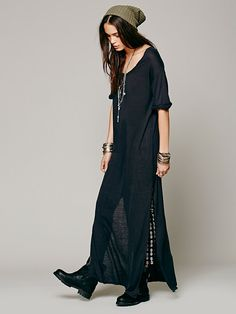 Free People Talkin Too Much Maxi  I want to make this dress!!!!!! I love it!!!