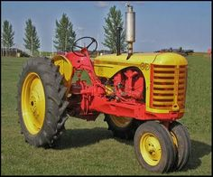 Old Massey Harris Tractor