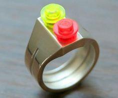 LEGO Brick Ring http://www.thisiswhyimbroke.com/lego-brick-ring