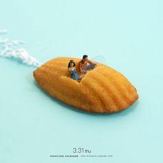Speedboat... l www.miniature-calender.com