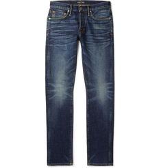Fashion Advice, Fashion News, Mens Fashion, Fashion Styles, Denim Jeans Men, Slim Jeans, Tom Ford Jeans, Tom Ford Clothing, Hugo Boss Man