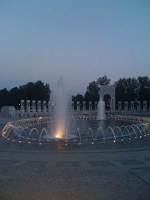 WWII monument in Washington DC