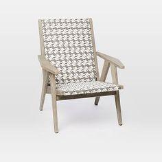 All-Weather Wicker Globalist Lounge Chair #westelm