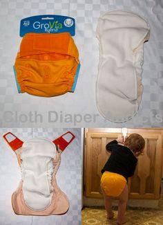 GroVia Hybrid Review - Cloth Diaper Addicts  @GroVia