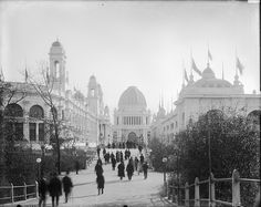 I got to see The White CIty at The Chicago World Fair before it burnt down in 1894.  It was so incredible.