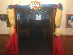 Hero KayLeigh Gardner Hall at Hero Central VBS at Guys Chapel UMC in Rabun, AL!