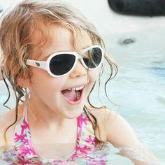 So much fun! #pooltime #sweetsummer @Babiators #babiators #toddlerfun #vacation