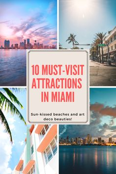 Need help for your next Miami vacation? Discover top 10 best things to do in Miami! Check out these amazing things to see and do in Miami including the beaches, Miami Beach, Little Havana and more. Florida Travel Guide, Usa Travel Guide, Travel Usa, Travel Guides, Travel Tips, Vacation Places In Usa, Visit Florida, Worldwide Travel, Road Trip Usa