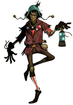 Scarecrow from Folklore
