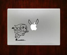 DecalOnTop.com - Link Zelda Chasing Navi Macbook Pro / Air 13 Decal Stickers, $8.99 (https://www.decalontop.com/link-zelda-chasing-navi-decal-stickers-for-apple-macbook-pro-air-13-15/)