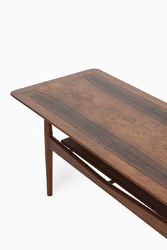 Ib Kofod-Larsen coffee table in teak and rosewood at Studio Schalling #retro