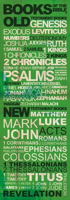 Books of The Bible by The-Rehovot-Projects.deviantart.com