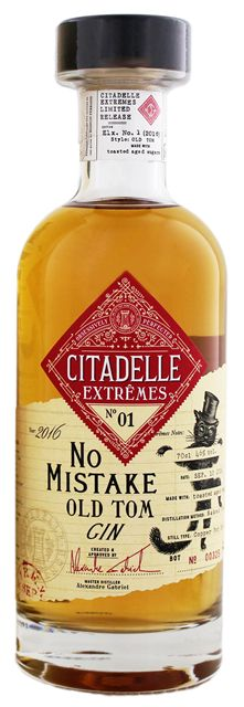Citadelle Extremes No1 No Mistake Old Tom Gin