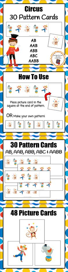 circus lesson plans for preschoolers circus theme math and language printables circus theme 226
