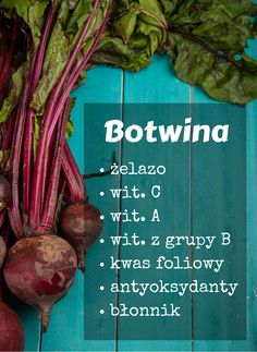Włącz ją do diety :)  #botwina #boćwina #botwinka #buraczki #warzywa #zdrowie #dieta #witaminy #healthy #vegetables #abcZdrowie Healthy Tips, Cool Kitchens, Carrots, Good Food, Beef, Vegetables, Meat, Carrot, Vegetable Recipes