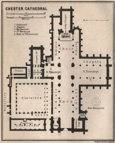 Chester Cathedral, Chester City, Wayfinding Signs, Maps, Floor Plans, England, Chart, Flooring, How To Plan