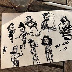 Watching #esprus sketches  #characterdesign n1686  #art #draw #draws #cartoon #drawingoftheday #dailydrawing #artwork #dailyart #artoftheday #concept #drawing #arts #sketchbook #conceptart #arts #doodle #illustration #sketch #instaart #instadraw #instaartist #instadaily #sketchbook