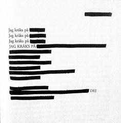 Anna Kristiansson for @bokpoesi on Instagram