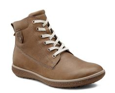 ... Ecco Aude Ladies Warm Lined Lace Up Casual Ankle Boot 241723-02175 -  Robin Elt ...