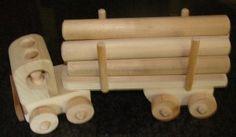 Wooden Toy Trucks: Toy Wood Trucks, Non-Toxic, Handmade in Arizona.