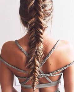 Pretty braid and top