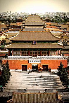 Forbidden Cit, Beijing, China with minutes' walk to Grand Hyatt Beijing!