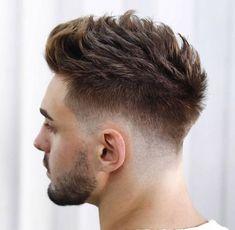 Spiky Hair For Men - Best Men's Hairstyles: Cool Haircuts For Guys Trending Haircuts, Cool Haircuts, Haircuts For Men, Haircut Men, Haircut Short, Latest Hairstyles, Hairstyles Haircuts, Cool Hairstyles, Faux Hawk Hairstyles