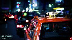 Tokyo Taxi by Jörg Dickmann