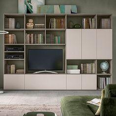 Ultramodern, stylish 'Gaga' TV unit. Contemporary and minimalist piece, high quality materials. My Italian Living.