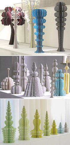 Paper sculpture by Ferry Staverman