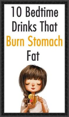 10 Bedtime Drinks That Burn Stomach Fat - Weight Loss - Diet - Health. Fat Burning Detox Drinks, Fat Burning Foods, Remove Belly Fat, Lose Belly Fat, Lose Fat, Fitness Models, Gym Fitness, Health Fitness, Fitness Workouts