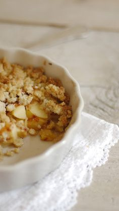 Lykkelig - mein Foodblog: Crumble