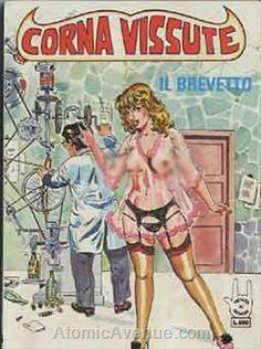 Corna Vissute #12 from Edifumetto